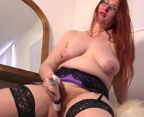 Autumn Temptation (EU) (34) - Curvy red mature Autumn Temptation plays with her unshaved pussy (FullHD)