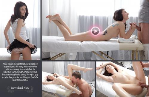 Nixie (AKA: Lilu Tattoo, Tani) - Nixie gets a surprise massage twist (FullHD)