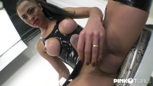 Keylla Marques - Breaks His Slave'S Ass [SD, 406p] [PinkOTgirls.com]