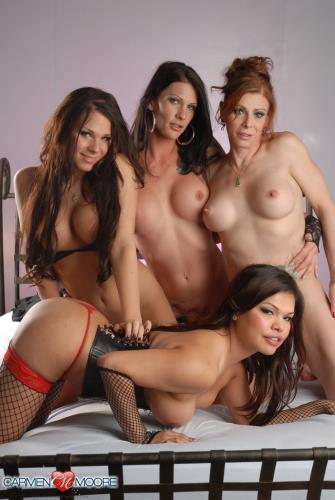 Ashley George, Morgan Bailey, Jasmine Jewels, Carmen Moore - HARDCORE (765  ...