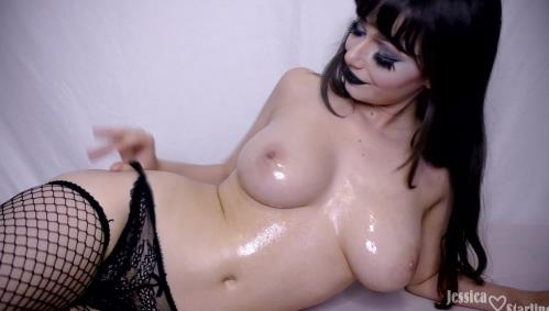 Jessica Starling - Goth Mommy Panty Stuffing amp Riding POV (FullHD)