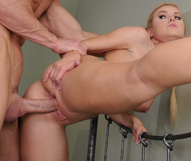 Jessie rogers lets him fuck her tight anal hole