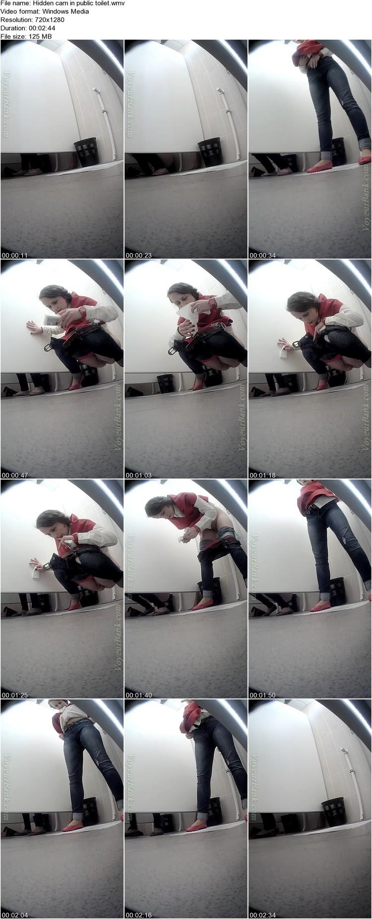 Lesbians caught in public hidden cam