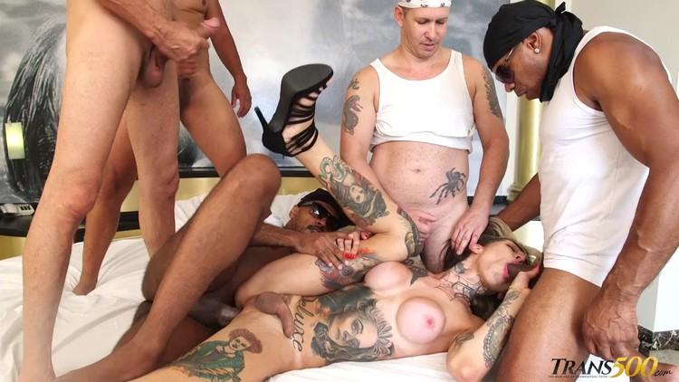 Gabby's First Bbc Gangbang V, Free New Gangbang Porn Photo