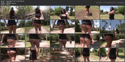 Cassidy Enjoys Walking Around Campus Half Naked