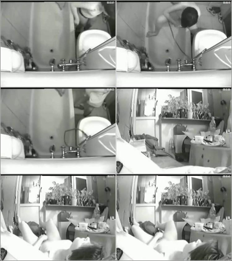 Hidden Camera Under Desk Voyeur My Sister Masturbating While Watch Porn