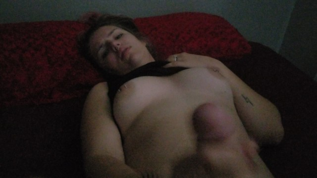 Teen moans while daddy cums all over her