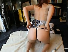 Ayla's Floor Orgasm