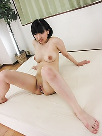Arousing Hana Harusaki enjoys full asian threesome