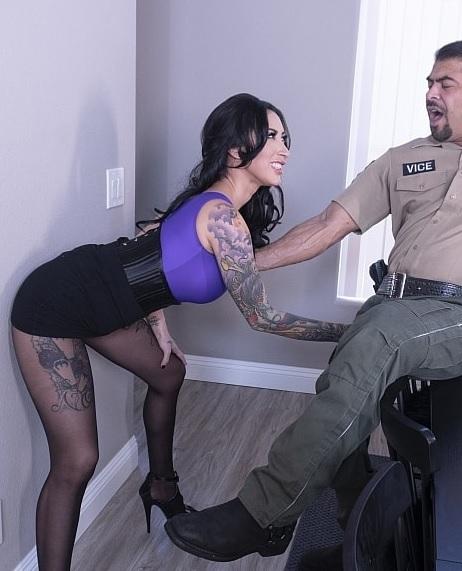 Lily Butt Fucks a Cop