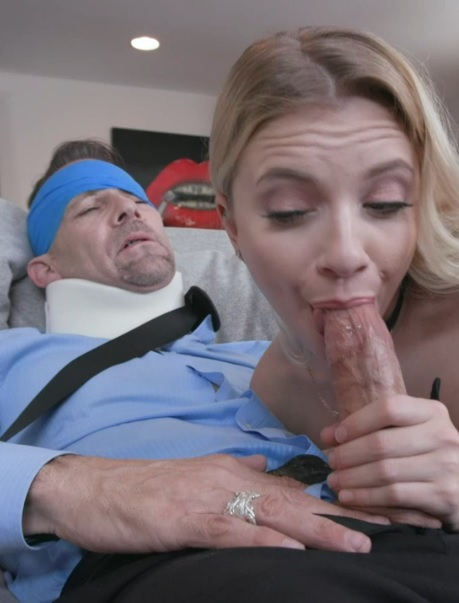 Megan Hughes in Daughters Dad Medicine
