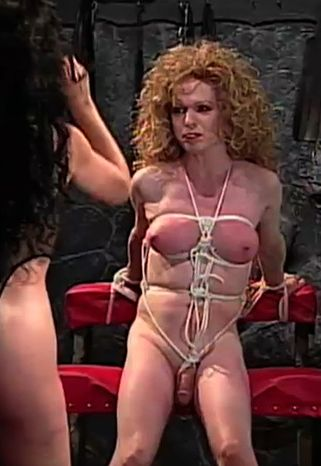 Transsexual Dungeon Bondage 1