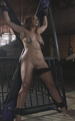 Slutty Skylar Snow gets her ass flogged, caned and fucked