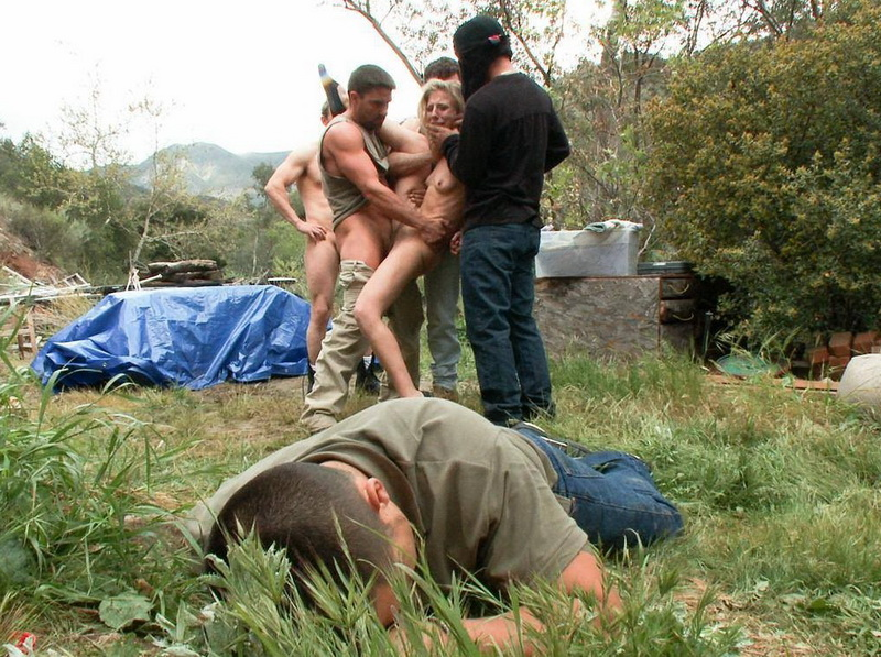 Chastity Lynn - Featuring Chastity Lynn in her First Released Gangbang (2012 | HD) (861 MB)