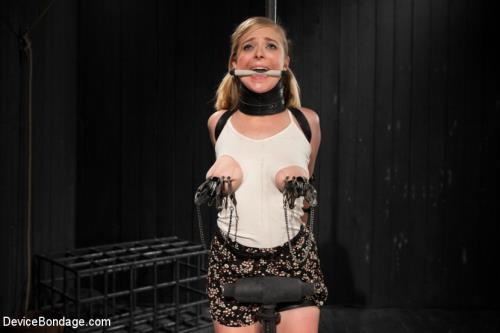 Penny Pax - Blonde Cunt Penny Pax Subjected to Brutal Bondage (576 MB)