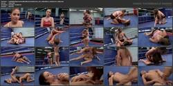 NudeFightClub presents Nelly Sullivan vs. Cathy Heaven
