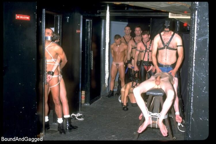 Night club bondage
