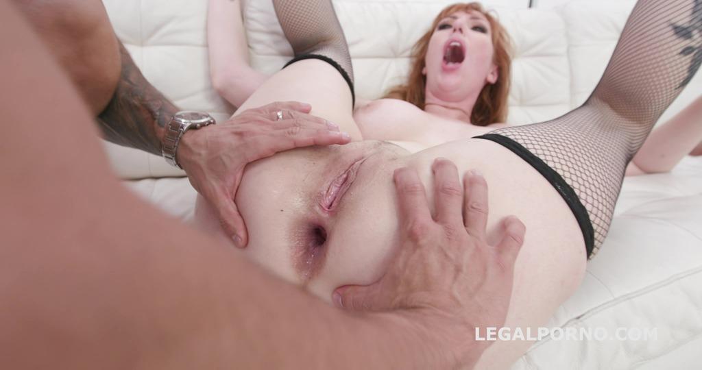 LegalPorno - Giorgio Grandi - Manhandle, Lauren Phillips gets 4on1 rough sex with Balls Deep Anal, DAP, Gapes and Swallow GIO1270
