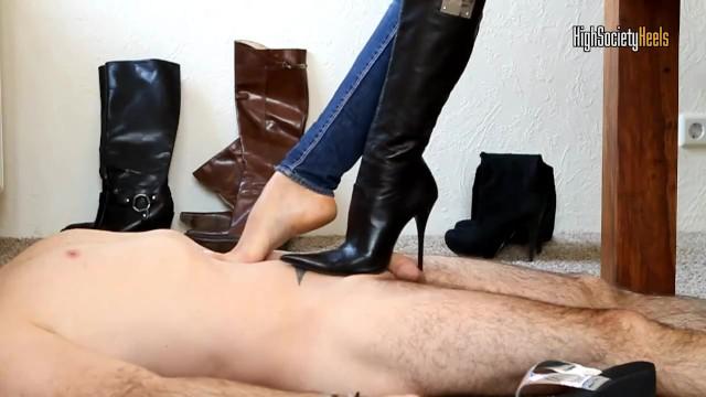 Trample boots porn pics