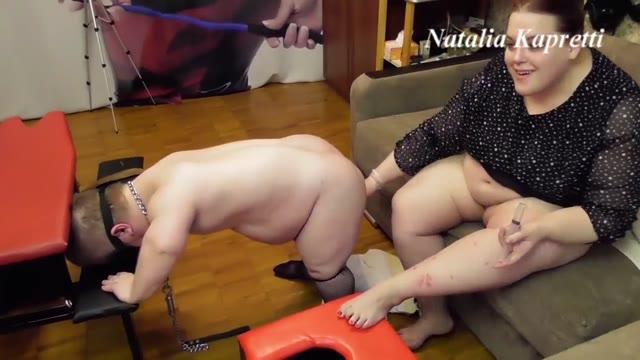 Mistress Natalia Kapretti - You our toilet bowl dwarf
