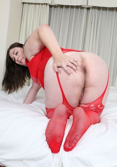 The sexy BBW Canadian trans starlet
