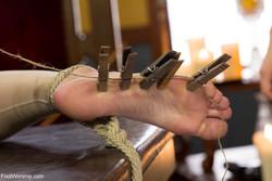 Aiden Starr, Veruca James - Lesbian Foot Torture