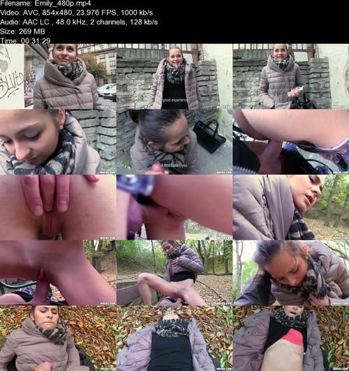Emily - Public Sex With Teen For Money - (PickupGirls) [SD 480p]