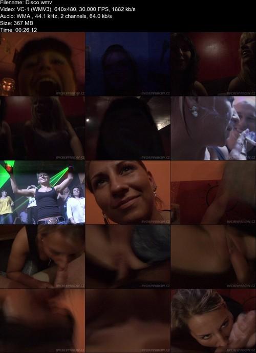 Lenka - Sex With Hot Girl In Disco - (Amateurporn) [SD 480p]
