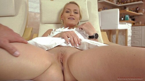 Two Shaved Blondes Kathia Nobili And Petra Get Together 8Tube 1