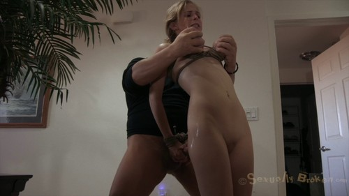 Brutal tits bondage and humiliation (REALLY PAIN / BLUE TITS)