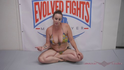 October 05, 2019 - Bella Rossi - Competitive Sex Fight With Winner Thigh Fucking Loser - Mixed Wrestling