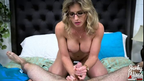 Jerky Wives - Horny mommy catches me with her panties