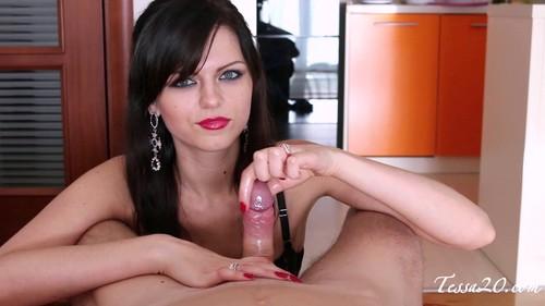 Tessa Ray - handjob POV milking