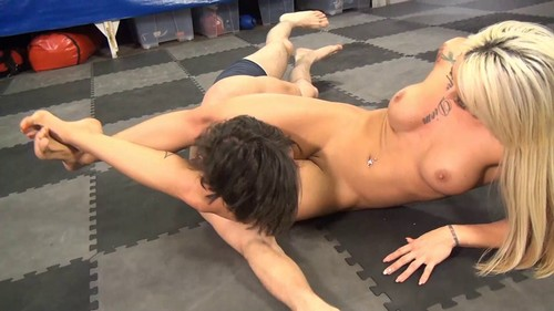 Ultimate Mixed Wrestling - Angelica - Lick Or Be Smothered