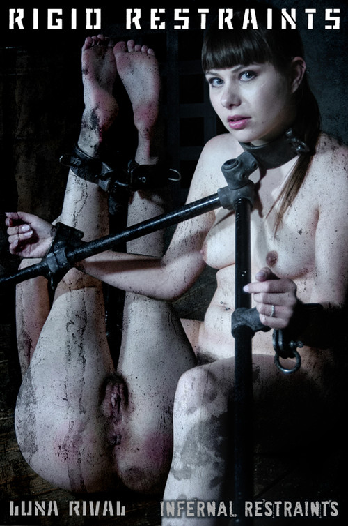 Rigid Restraints - Luna Rival - Luna''s restraints hold her tightly.