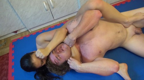 FM BRUTE FORCE vs. PERFECT TECHNIQUE - NUDE WRESTLING DOMINATION WITH DOMINAN
