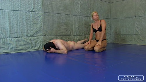 FM Wrestling with Zita.