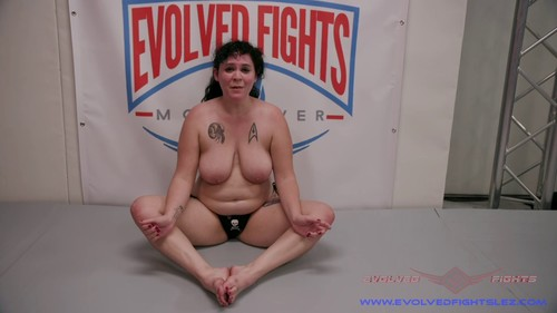 October 8, 2019 - Johnny Starlight, Jenevieve Hexxx - Nude Lesbian Wrestling has Johnny & Jenevieve going wild!