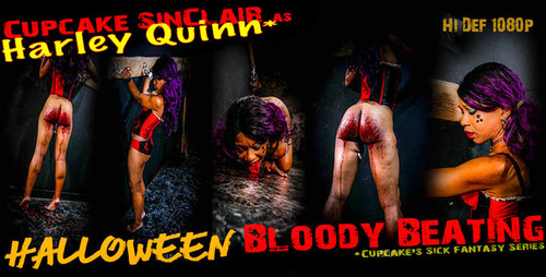 Cupcake SinClair - Halloween Bloody Beating