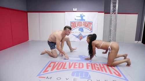 October 11, 2019 - Fights - Kira Noir vs Nathan Bronson - Mixed Wrestling