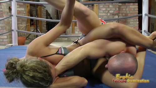 Roxy Knocks Her Sparring Partner Out