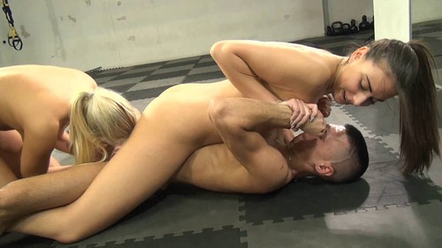 Carla and Alison - Toyed by Amazons