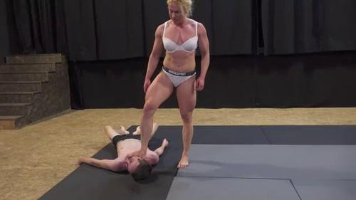 Fight - Buffy vs Luke - Mixed Wrestling (NEW LINK)