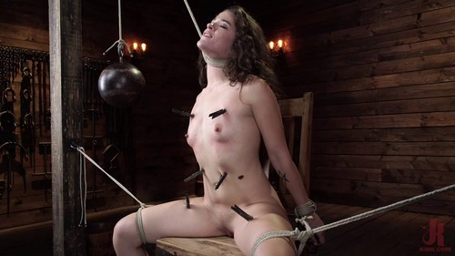 October 24, 2019 - Victoria Voxxx in EXTREME torment, brutal bondage and waterboarding!