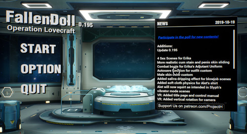 Fallen Doll: Operation Lovecraft v0.195 Cracked