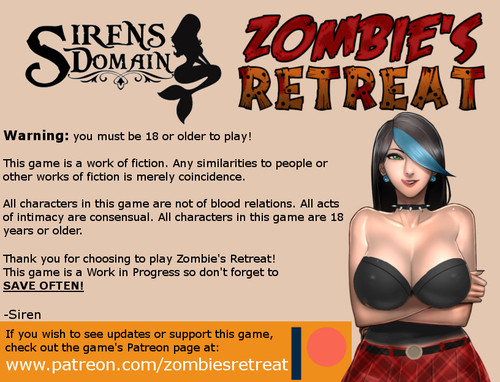 Zombie's Retreat - Beta 0.10.1 + Walkthrough  - 24 October 2019