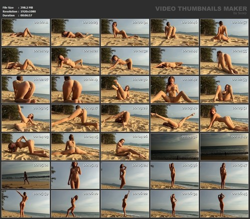 Vera1995 - Naked in beach