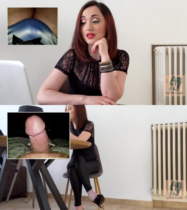 Humiliation penis small video